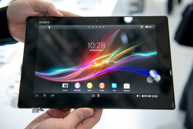 Sony Xperia Tablet Z nettbrettet