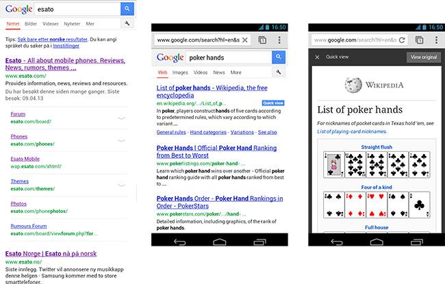 Google forbereder sine mobilsider