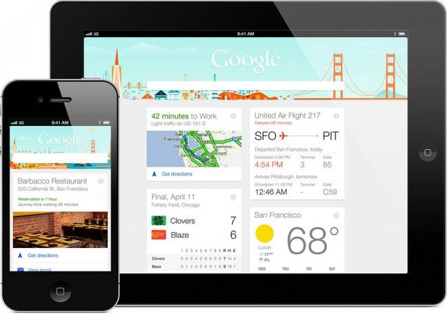 Google Now er nå tilgjengelig for iPhone og iPad