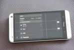 Menyinnstillinger på HTC One kamera