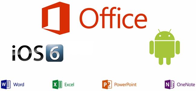 Microsoft Office for iOS og Android er muligvis utsatt til 2014