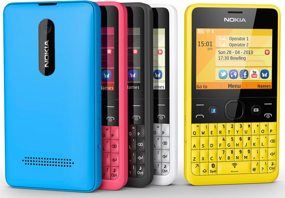 Asha 210 dual-SIM