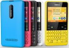 Nokia Asha 210 single SIM modellen