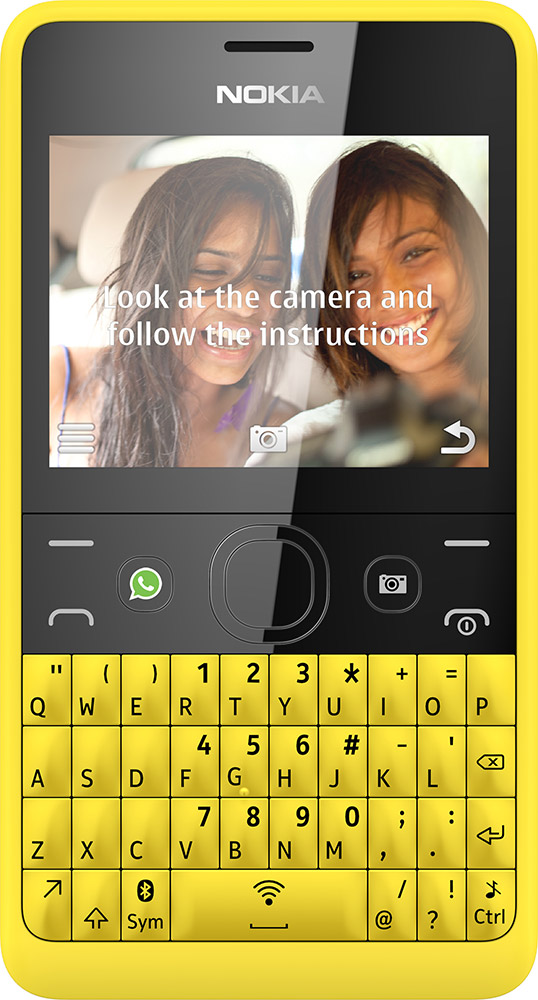 Nokia Asha 210 single-SIM modellen