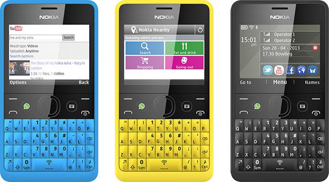 Nokia Asha 210 lansert