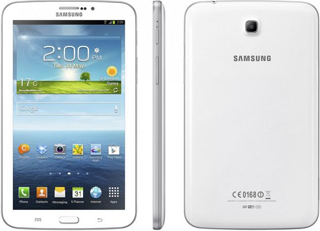 Samsung Galaxy Tab 3 annonsert