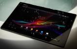 Støv og vanntette Xperia Tablet Z