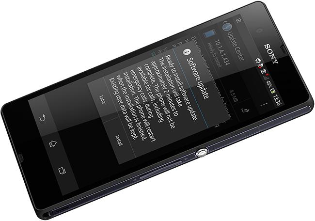 Sony Xperia Z smartmobil har nå fått oppdatert operativsystem