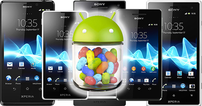 Android 4.1 Jelly Bean klar for Sony Xperia S