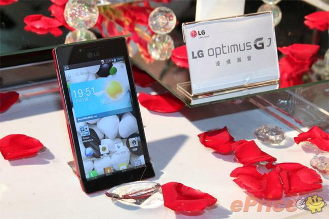 Vanntette LG Optimus GJ annonsert