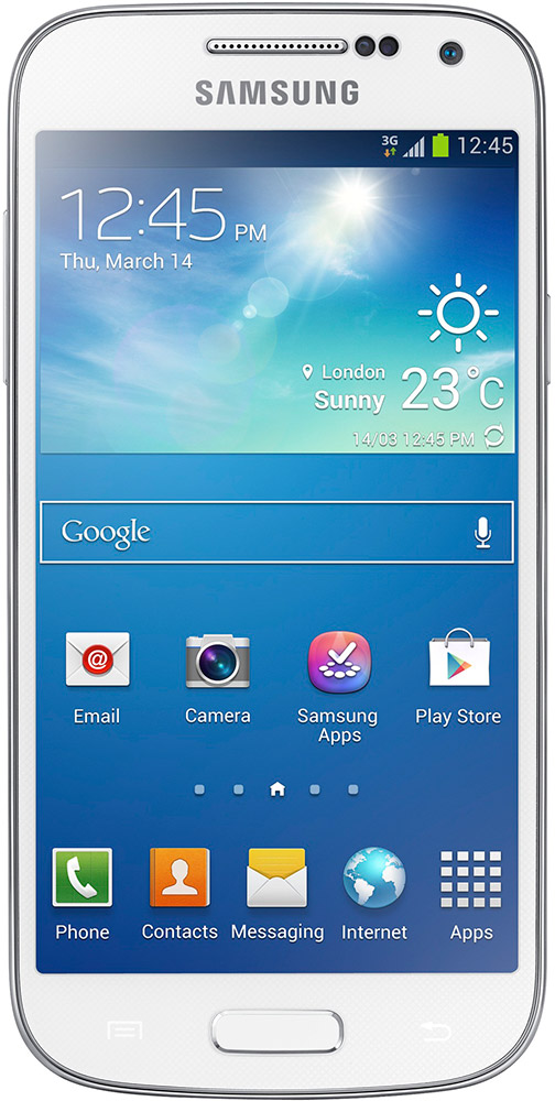 Hvit Samsung Galaxy S4 mini