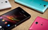 Sony Xperia ZR fargeutvalg