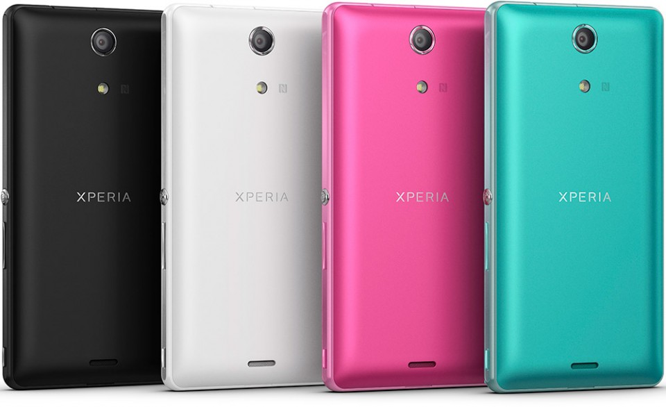 Sony Xperia ZR alle farger