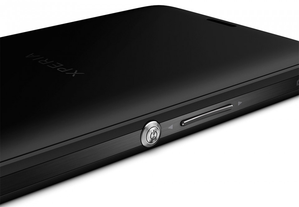 Sony Xperia ZR knapper