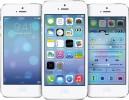 Apple iOS 7 tre skjermer