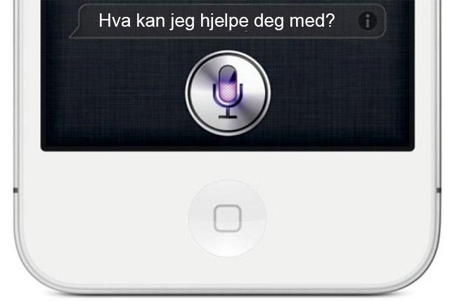Oppdatert Siri i Apple iOS 7
