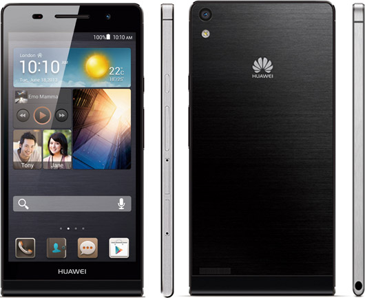 Huawei Ascend P6 alle sider