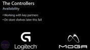 iPhone 5 spillkontroller av Logitech og Moga