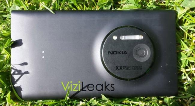 Nokia EOS bakside