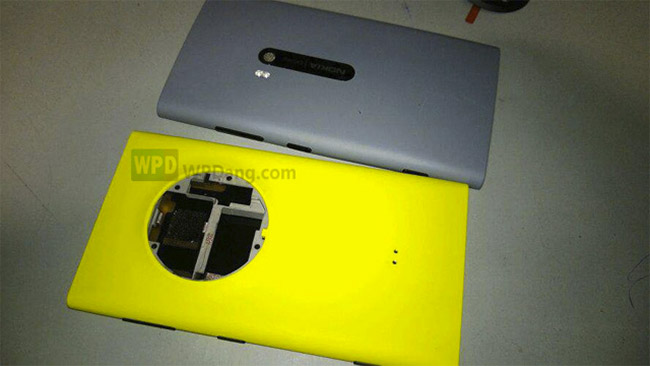Nokia EOS sammenlignet med en Lumia modell