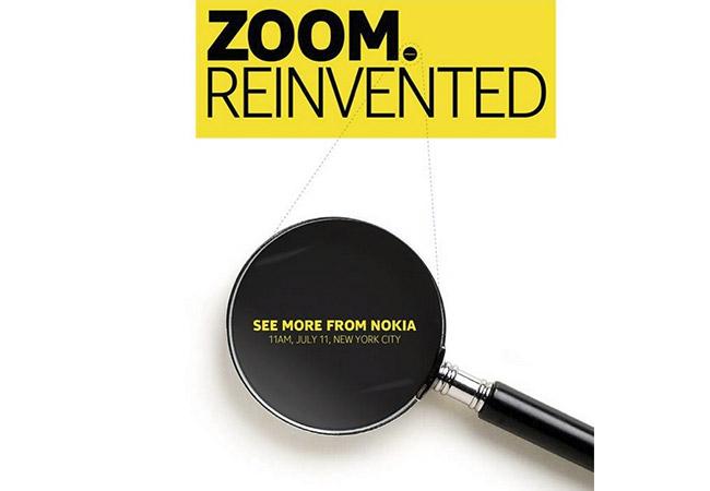 Zoom Reinvented - Nokia event 11 juli