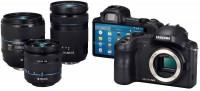 Samsung Android systemkamera med objektiv