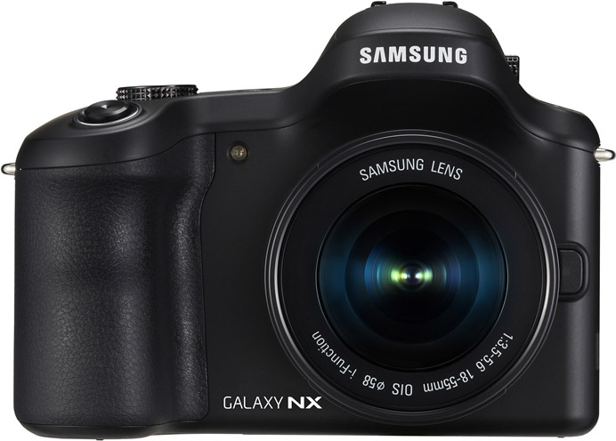 Samsung Galaxy NX front