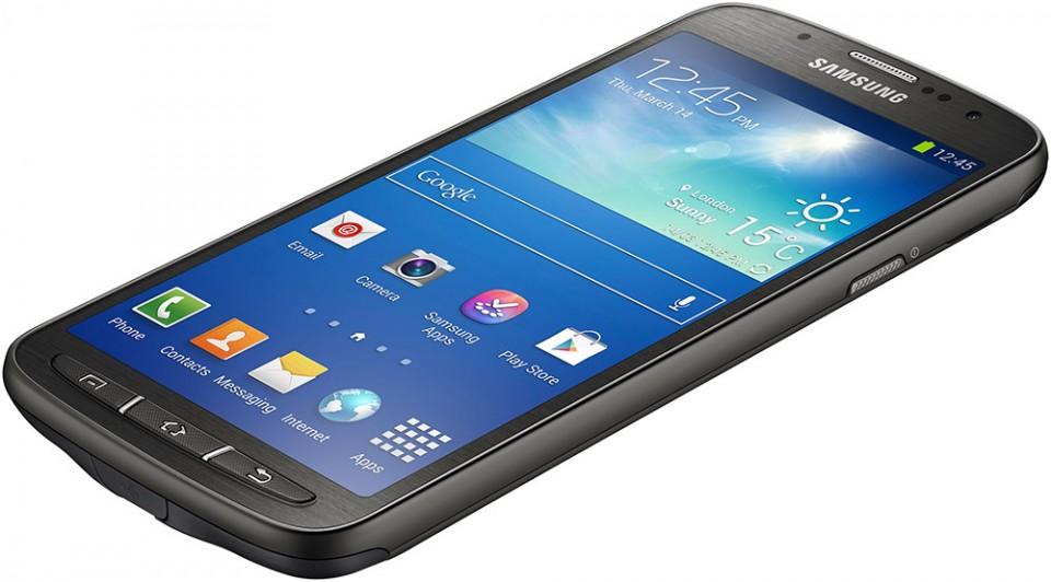 Samsung Galaxy S4 Active annonsert