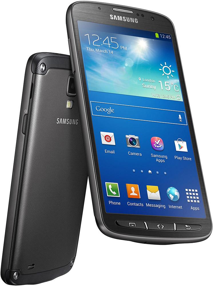 Samsung Galaxy S4 Active front bak