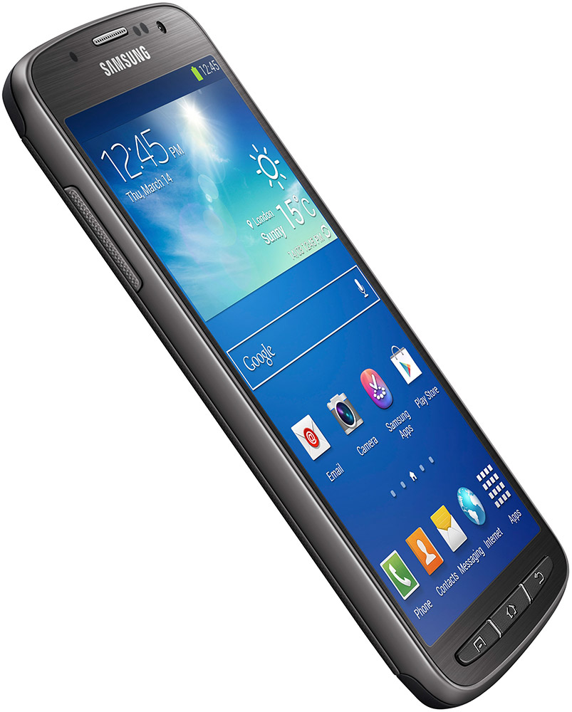 Samsung Galaxy S4 Active tilted