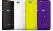 Sony Xperia M fargeutvalg