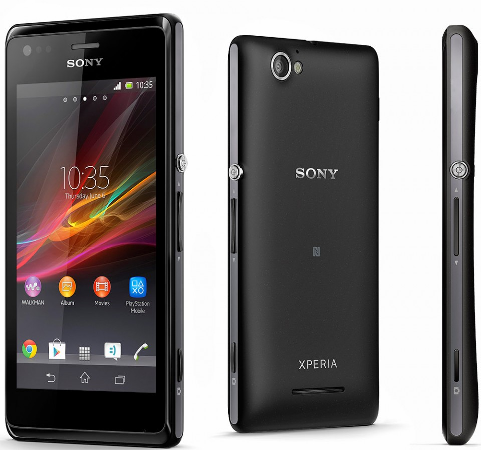 Sony Xperia M sort