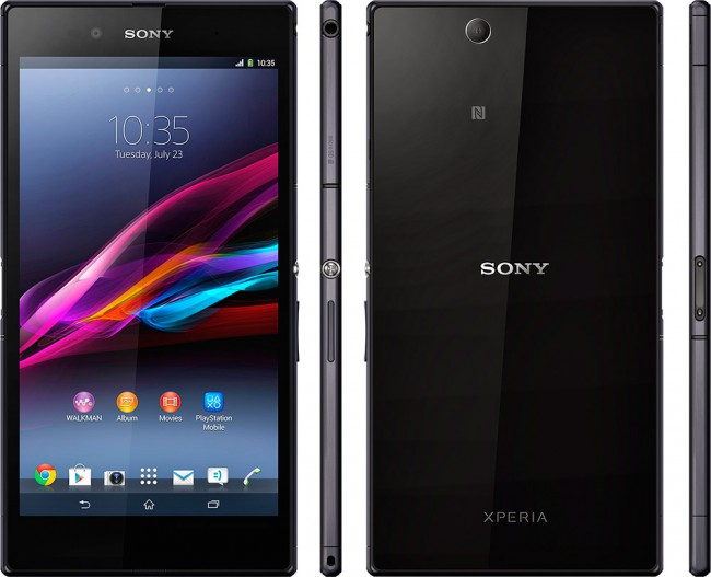 Sony Xperia Z Ultra alle sider