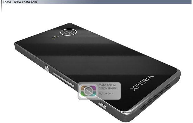 Sony Xperia Z Ultra render av reefloz