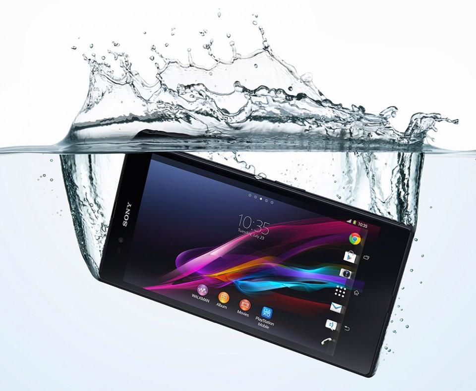 Sony Xperia Z Ultra vanntett