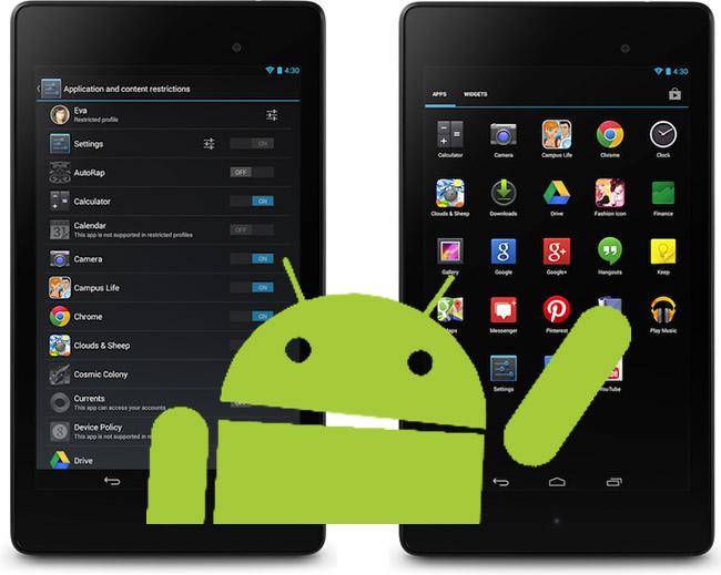 Android 4.3 er lansert