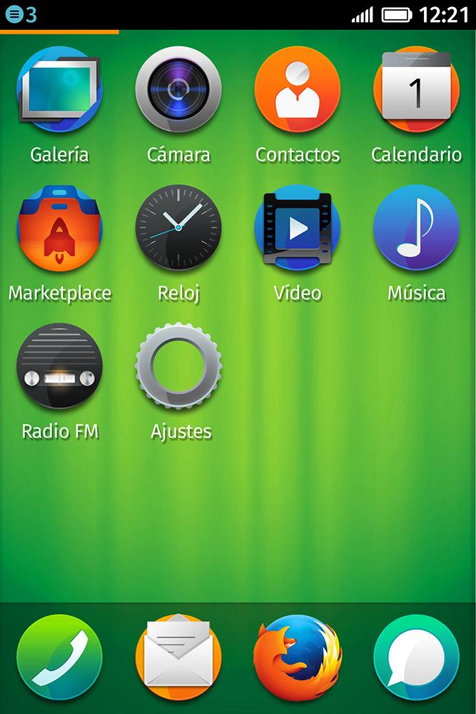 Firefox OS apper