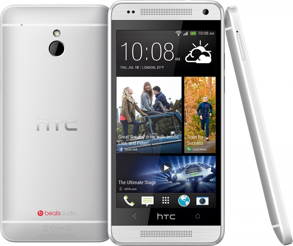 HTC One Mini er annonsert