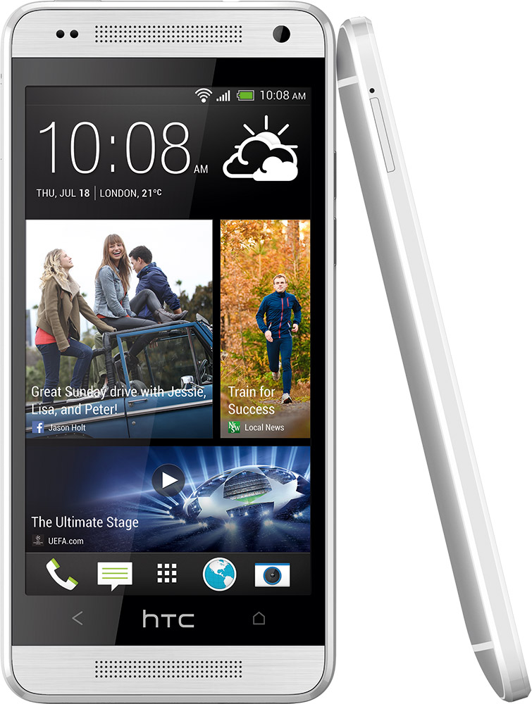 HTC One Mini front og side