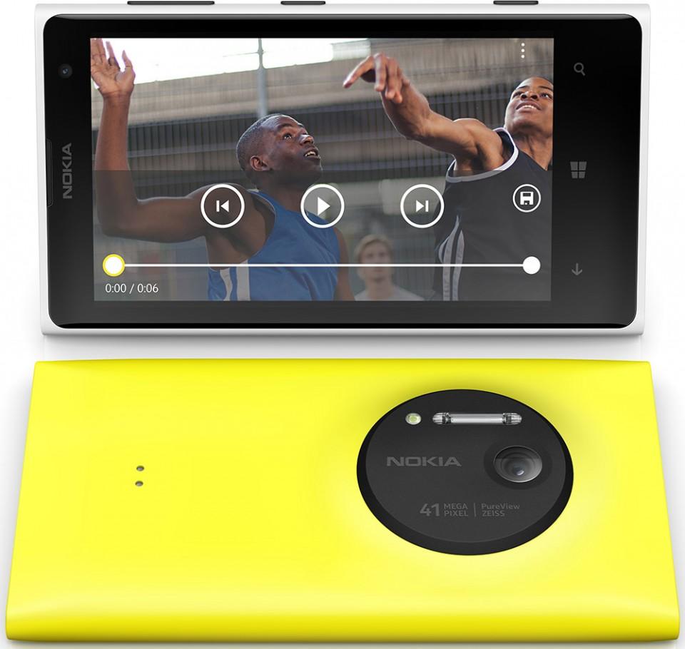 Nokia Lumia 1020 fargevarianter
