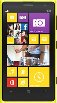 Nokia Lumia 1020 front
