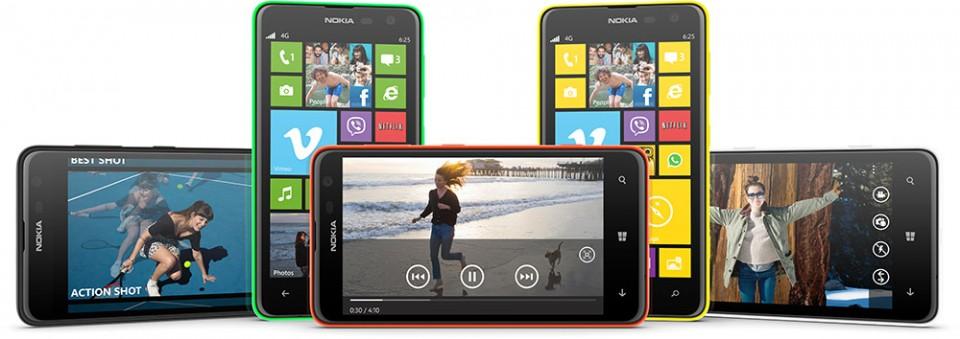 Nokia Lumia 625 er lansert