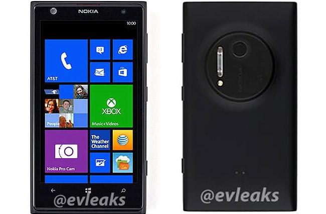 Nokia Zoom EOS front og bakside
