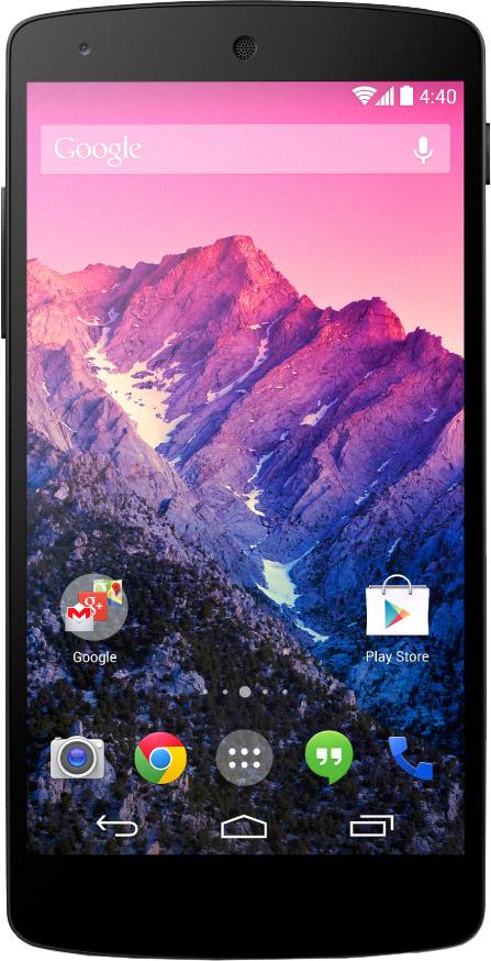 LG Nexus 5 forside